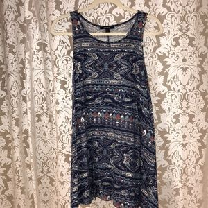 Pattered dress!